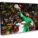 Tim Howard USA 2014 FIFA World Cup Brazil 40x30 Framed Canvas Print