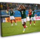 Giovani Dos Santos Frustration Mexico 40x30 Framed Canvas Print