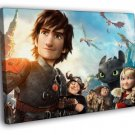 How To Train Your Dragon 2 2014 Movie 40x30 Framed Canvas Print
