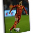 Eden Hazard Belgium Football Soccer Sport 40x30 Framed Canvas Print