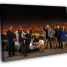 Melrose Place TV Series 2009 Cast Characters 40x30 Framed Canvas Print