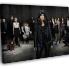 Orphan Black Characters Cast Tv Series 40x30 Framed Canvas Print