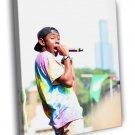 Tyler The Creator Rapper Hip Hop Music Rap 40x30 Framed Canvas Print