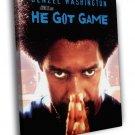 Denzel Washington He Got Game Movie Spike Lee 40x30 Framed Canvas Print