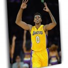 Nick Young Los Angeles Lakers Basketball Sport 40x30 Framed Canvas Print