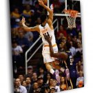 Gerald Green Dunk Phoenix Suns Basketball 40x30 Framed Canvas Print