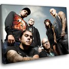 Winds Of Plague American Deathcore Band 40x30 Framed Canvas Art Print