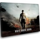 White House Down Movie Channing Tatum 40x30 Framed Canvas Art Print