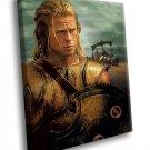 Troy Movie Brad Pitt Achilles 40x30 Framed Canvas Art Print