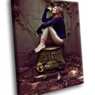 Stana Katic Hot Actress 40x30 Framed Canvas Art Print