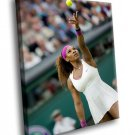 Serena Williams Tennis Player Sport 40x30 Framed Canvas Art Print
