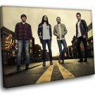 Kings Of Leon Rock Band Music 40x30 Framed Canvas Art Print