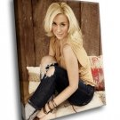 Kellie Pickler Singer Country Music Sexy Blonde 40x30 Framed Canvas Art Print