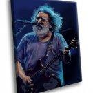 Jerry Garcia Guitarist Grateful Dead 40x30 Framed Canvas Art Print