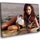 Jessica Alba Sexiest Woman Actress 40x30 Framed Canvas Art Print