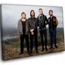 Imagine Dragons Alternative Rock Band Music 40x30 Framed Canvas Art Print