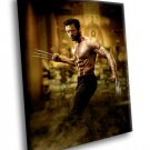 Hugh Jackman Amazing Actor 40x30 Framed Canvas Art Print