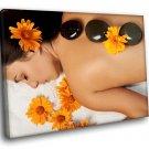 Hot Stone Massage SPA Relax 40x30 Framed Canvas Art Print