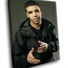 Drake Rapper Music 40x30 Framed Canvas Art Print