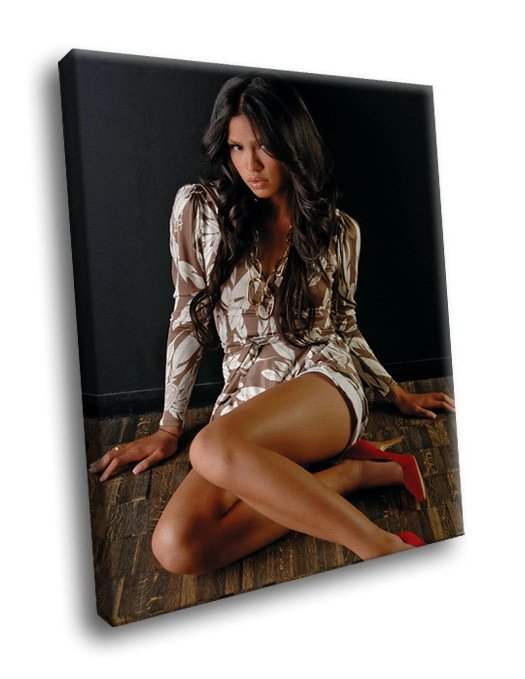 Sexy Cassie Ventura Hot Singer R B Music 40x30 Framed Canvas Art Print