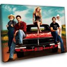 The Dukes Of Hazzard TV Series 40x30 Framed Canvas Art Print
