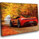 Aston Martin DBC Concept Autumn 40x30 Framed Canvas Art Print