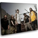 Suicide Silence Rockstar Deathcore Metal Music 40x30 Framed Canvas Art Print