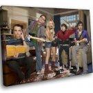 The Big Bang Theory TV Series New Season 40x30 Framed Canvas Art Print
