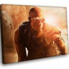 Riddick Action Movie Vin Diesel 40x30 Framed Canvas Art Print
