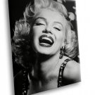 Marilyn Monroe Icon Smile Hollywood Movie Star 40x30 Framed Canvas Art Print