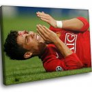 Cristiano Ronaldo Football Star Sport 40x30 Framed Canvas Art Print