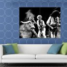 Queen Retro Stage Freddie Mercury Guitars Rock Band HUGE 48x36 Print POSTER