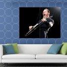 Metallica James Hetfield Stage Guitar Heavy Metal Band HUGE 48x36 Print POSTER