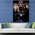 Guns N Roses McKagan Adler Rose Slash Stradlin Band HUGE 48x36 Print POSTER
