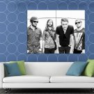 Imagine Dragons Awesome BW Indie Rock Band HUGE 48x36 Print POSTER