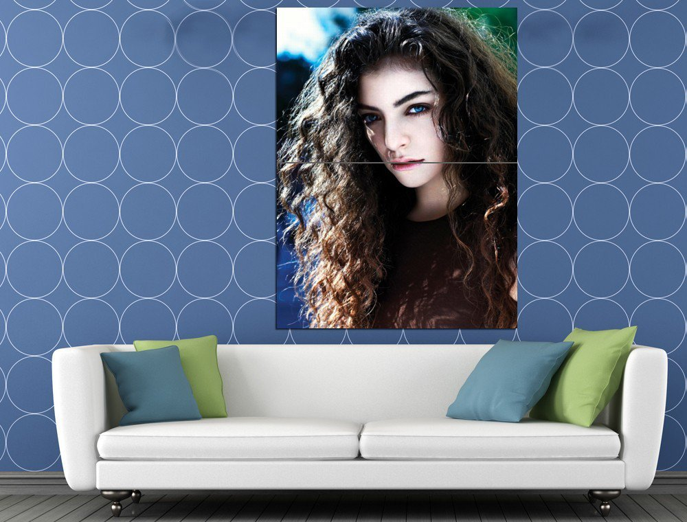 Lorde Awesome Portrait Beautiful Music Artist Singer HUGE 48x36 Print POSTER