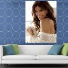 Idina Menzel Portrait Smile Hair Beautiful Singer HUGE 48x36 Print POSTER