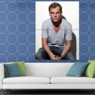 Avicii Handsome Electronic Dance Music EDM DJ Music HUGE 48x36 Print POSTER
