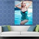 Scarlett Johansson Swimsuit Legs Hot Sexy Seductive HUGE 48x36 Print POSTER