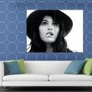 Gemma Arterton Amazing Hot Sexy BW Portrait Hat Rare HUGE 48x36 Print POSTER