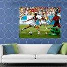 Thomas Muller Shot Goal Germany Portugal Football HUGE 48x36 Print POSTER