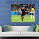 Miroslav Klose Record 16th Goal Germany Brazil Football HUGE 48x36 Print POSTER