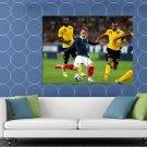 Antoine Griezmann Shot France World Cup Brazil Football HUGE 48x36 Print POSTER