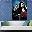 The Vampire Diaries Awesome Cast Characters TV Series HUGE 48x36 Print POSTER
