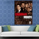 Criminal Minds Cast Characters Season 8 TV Series HUGE 48x36 Print POSTER