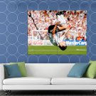 Miroslav Klose Amazing Jump Germany Football Soccer HUGE 48x36 Print POSTER