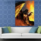 Darth Vader Rare Star Wars Movie Awesome Art HUGE 48x36 Print POSTER