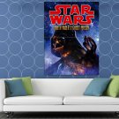 Darth Vader Sith Lord Force Space Star Wars Movie Art HUGE 48x36 Print POSTER