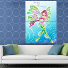Winx Club Princess Roxy Of Earth Sirenix Beautiful HUGE 48x36 Print POSTER