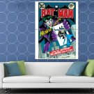 Joker Gotham Card Batman Cool Rare Art HUGE 48x36 Print POSTER